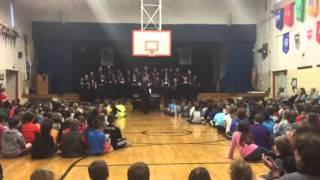 UD Choir Visits FWES