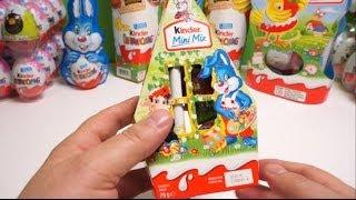 Đồ chơi bóc trứng socola Kinder Mini Mix kẹo socola