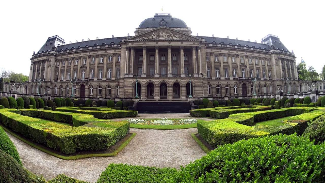 Image result for brussels royal palace