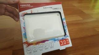 tOSHIBA Canvio Connect II - 3TB mobile HDD