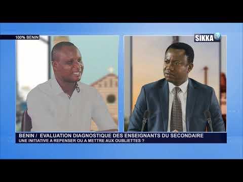 100 BENIN DU 16 01 19 / EVALUATION DIAGNOSTIQUE DES ENSEIGNANTS DU SECONDAIRE