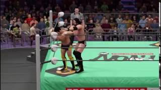 WWE 2K16 - KENTA VS Tyler Black - Pro Wrestling NOAH