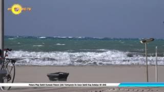 Patara Plajı Sahili Kumsalı Patara Çölü Türkiyenin En Uzun Sahili Kaş Antalya 4K UHD