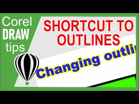 How To Change An Outline Colour In Corel Paint
