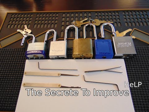[55] The Secret To Become a Better Lock Picker