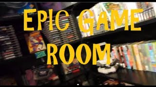 Retro Game Room Tour Summer 2013 - Collection Video - The Retro Gamer Vlog