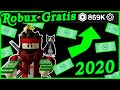Como Tener Robux Gratis 2020