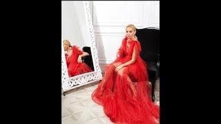 Наталья Варвина показала спальню для гостей в своем коттедже ))