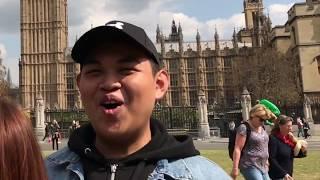 London, England  (Summer 2017) Part 3 – Travel Vlog