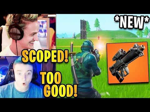 Streamers First Time Using *NEW* Proximity Grenade Launcher  Fortnite Highlights & Funny Moments