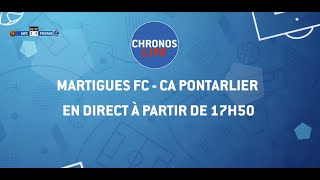 FC Martigues  - CA Pontarlier // Football // National 2 (A) (6e J)