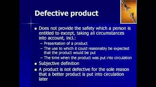 Product Liability in the European Union