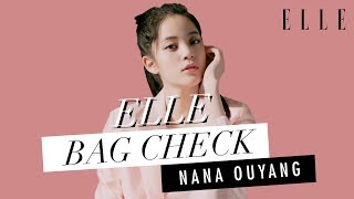 打開歐陽娜娜Nana OuYang的手袋!【What's in my Bag? 】| ELLE HK