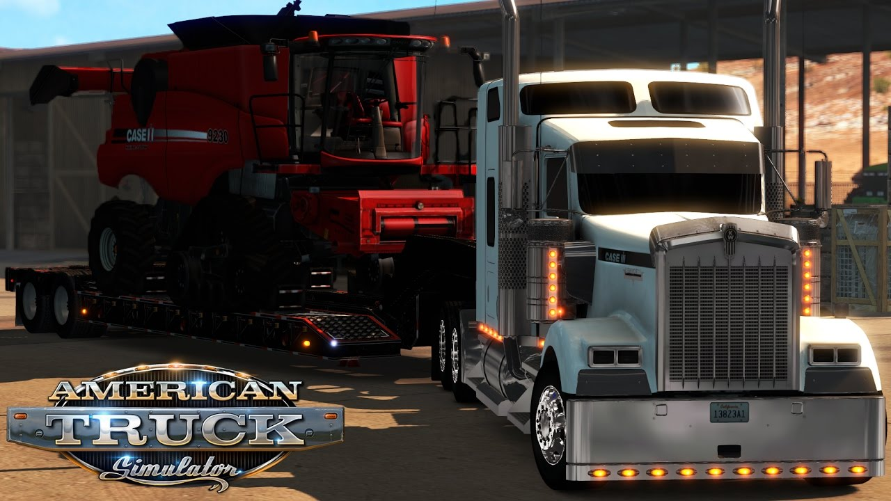 American Truck Simulator: Case IH W900 - Case IH 9230 - Keyenta to Page