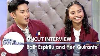Batit Espiritu & Yen Quirante | TWBA Uncut Interview