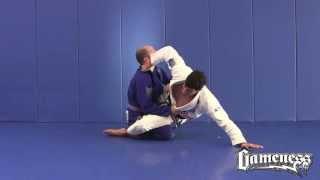 Jiu-Jitsu Black Belt, Kayron Gracie, Teaches a Sit-Up Sweep from Guard