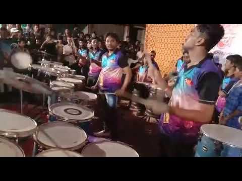 Sai shraddha musical beats thane aai tuza deul song  sundarbag cha raja padyapujan sohla 2018