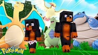 Video Minecraft - POKEMON GO SURVIVAL QUEST - CAN WE SURVIVE??? download MP3, 3GP, MP4, WEBM, AVI, FLV September 2017