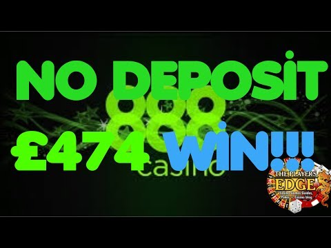 888 Casino Slots £352 To £474 And CASH OUT!!!