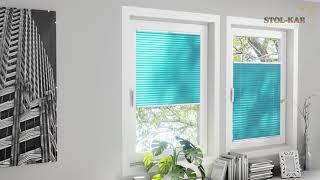 Plisa Bezinwazyjna - Montaż Plisy na ramie okna