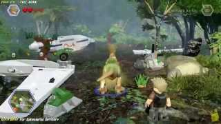 Lego Jurassic World: Crash Site FREE ROAM (All Collectibles) - HTG
