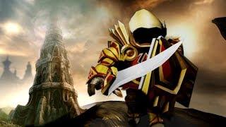 DARK SOULS ROBLOX - France Dark Blox Tower Dungeon Gameplay