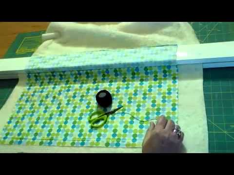 Basting A Quilt - The Easy Way!