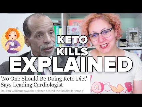 """""""No One Should Be Doing Keto Diet"""" by Cardiologist Kim Williams DEBUNK EXPLANATION"""
