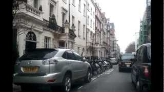 Driving in London - Brixton to Oxford Street