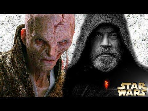 Supreme Leader Snoke a Grey Jedi Theory - Star Wars: The Last Jedi