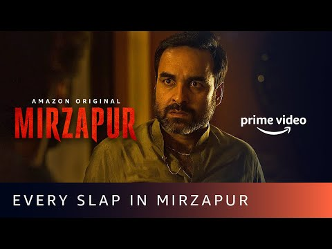 Every slap in MIRZAPUR - Pankaj Tripathi, Ali Fazal, Vikrant Massey, Divyenndu | Amazon Original