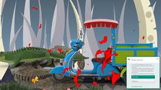 learn farm animals  Colors Water Slides  video content
