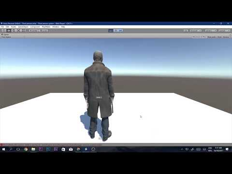 How to make simple Third Person System in Unity and Playmaker