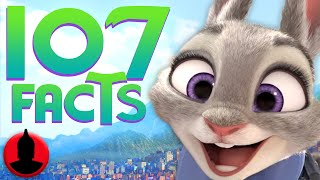 107 Zootopia Facts YOU Should Know - (ToonedUp #124) | ChannelFrederator