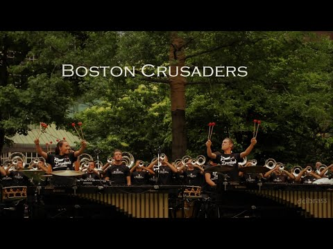 2018 Boston Crusaders at Post Office Square in Boston