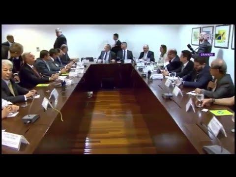 Congresso recebe MPs do acordo com caminhoneiros - 28/05/2018