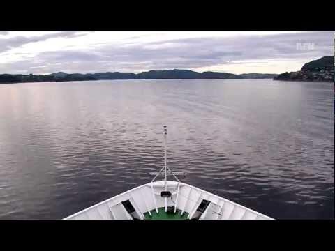 Hurtigruten - timelapse [e01]: Bergen - Florø