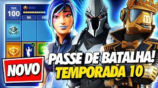 NEW BATTLE PASS SEASON 10 IT'S INSANE! -Fortnite, the