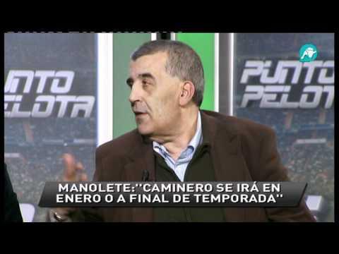 """Manolete: """"Simeone será presentado el lunes, Caminero se irá"""""""