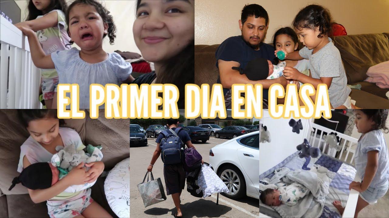 Nuestro Primer Dia Como Familia De 5 + Las Reacciones De Las Niñas  | Junio 26, 2020