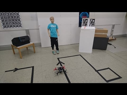 """Camera Drones Lecture - Project 2 - """"Optitrack & RGBD Sensor Based Indoor Mapping"""""""