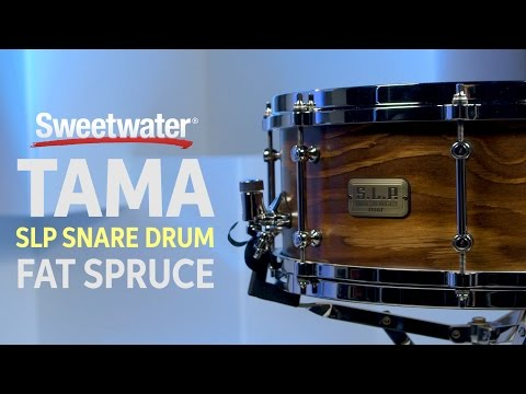 TAMA SLP Fat Spruce Snare Drum Review