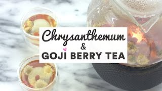 Chrysanthemum & Goji Berry Tea ♥ Chinese Herbal Tea Recipe