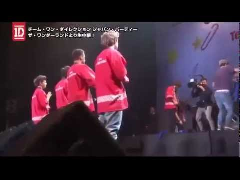 One Direction - One Way or Another - behind the scenes - Japan