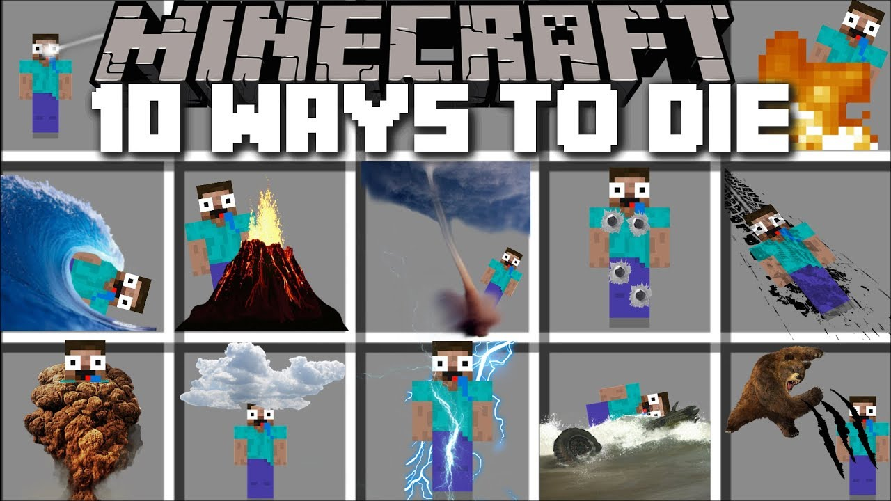 minecraft how to find where you died