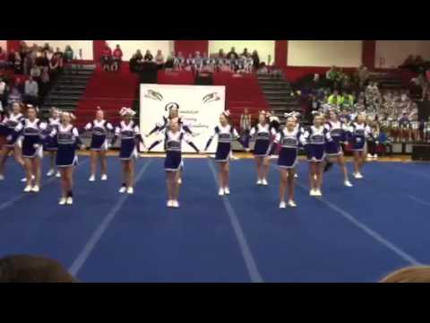 Northeastern Randolph Middle School cheer leading