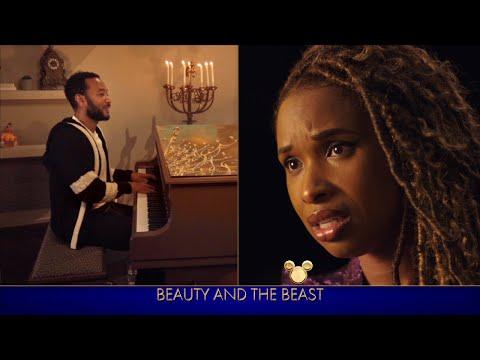 John Legend and Jennifer Hudson Perform 'Beauty and the Beast' - The Disney Family Singalong: Volume