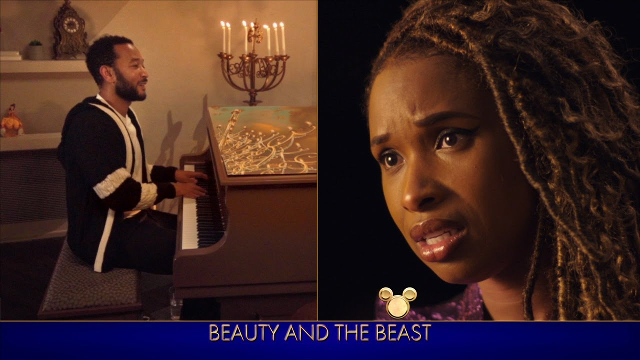 "Jennifer Hudson and John Legend's ""Beauty and the Beast ..."