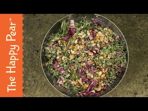 How to make Superfood Kale Bean Salad The Happy Pear