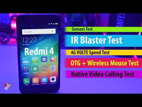 Xiaomi Redmi 4 4G Volte,OTG,IR Blaster,Sensors,Native Video Calling | Data Dock